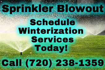 sprinkler blowout service